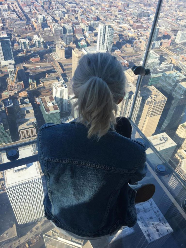 chicago skydeck, words are for writers