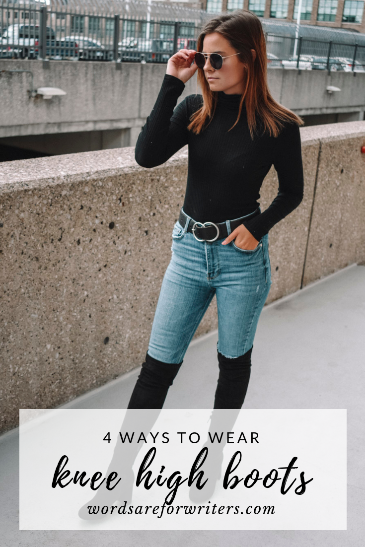 f5ede15babe 4 ways to wear knee high boots